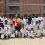 The school Cricket team