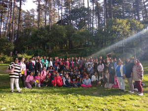 classes vi to viii visited mussoori , kanaktal and Dehradoon ,IMS campus during the dussehra vacations 3