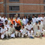 The school Cricket team