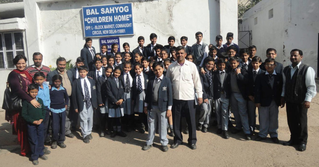 Bal sahyog children home visit
