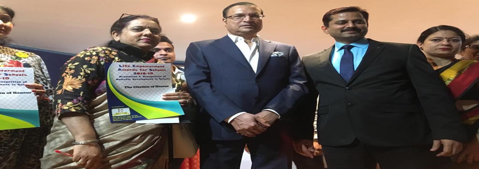 Life Empowerment Award 2018