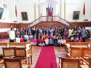 classes vi to viii visited mussoori , kanaktal and Dehradoon ,IMS campus during the dussehra vacations 2